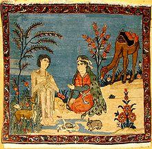 Layla en Majnun- Kunst uit Azerbeidzjan
