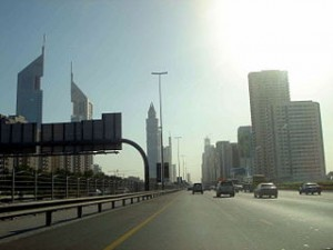 Sheikh Zayed-road