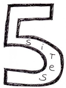 5 sites klein