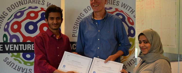 Saudische studenten leren ondernemend Nederland kennen