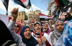 Vrouwen tijdens de Arabische Lente