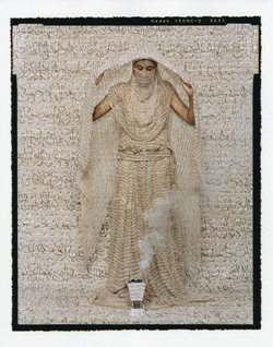 Les Femmes du Maroc © Lalla Essaydi/Courtesy Edwynn Houk Gallery, New York