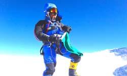 Raha Moharrak- Mount Everest