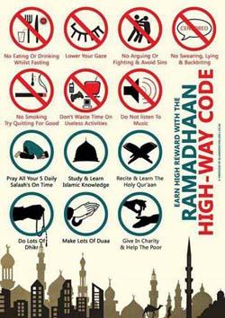 Ramadan High Way code