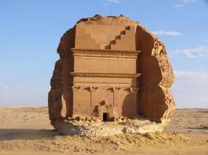 Madain Saleh in Saudi-Arabië