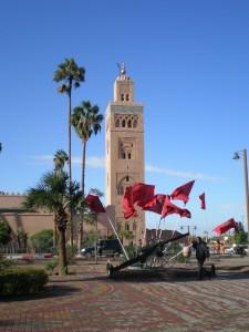Koutoubia in Marrakech