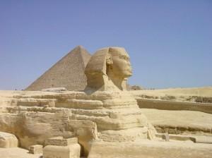 Sfinx in Gizeh